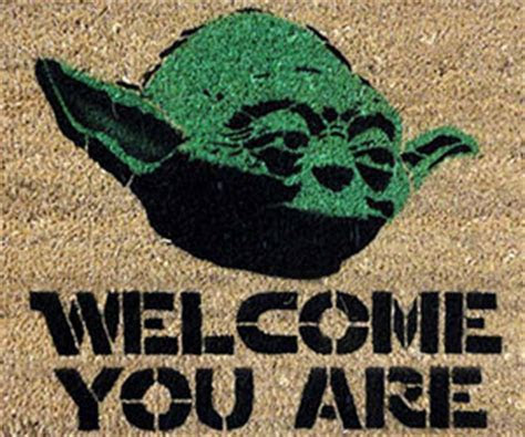 Star Wards Yoda Doormat