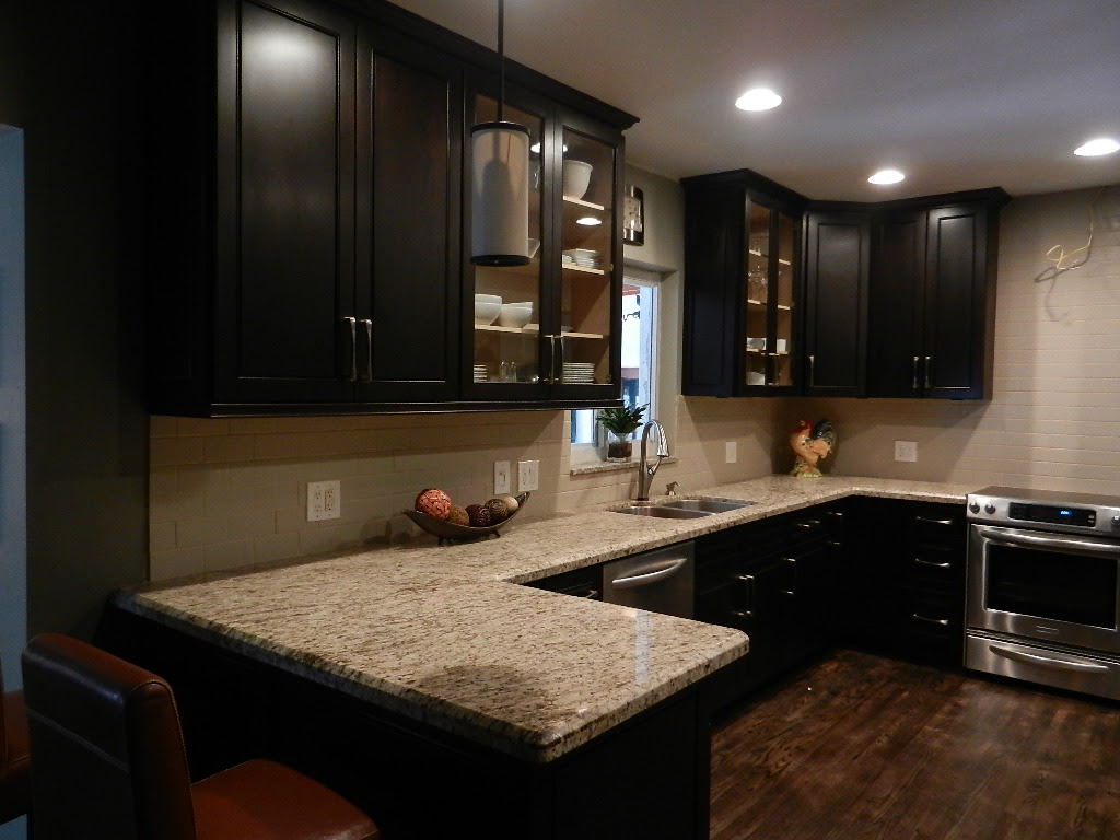 Dark Kitchens with Espresso Cabinets