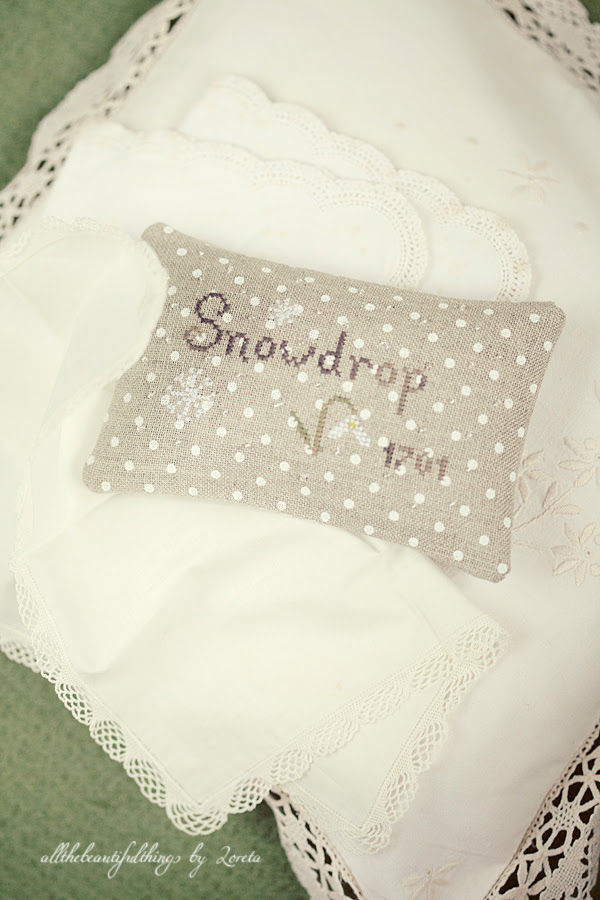 Snowdrop - The Little Stitcher