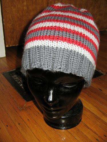 Dad's Xmas hat 1