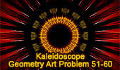 iPad Apps: Geometric Art: Kaleidoscopic Patterns of Geometry Problem 41-50
