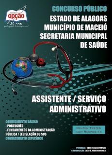 Prefeitura de Maceio-AL-ASSISTENTE / SERVIÇO ADMINISTRATIVO