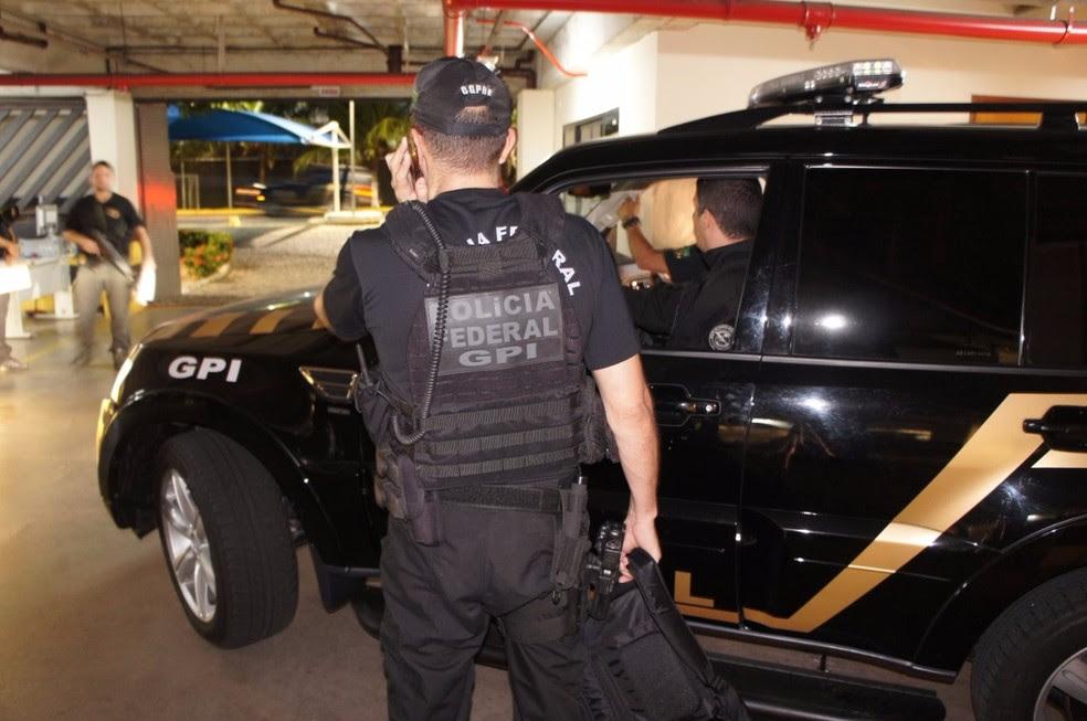 Polícia Federal cumpre mandados de busca e apreensão em operação na Grande Natal (Foto: Divulgação/PF)
