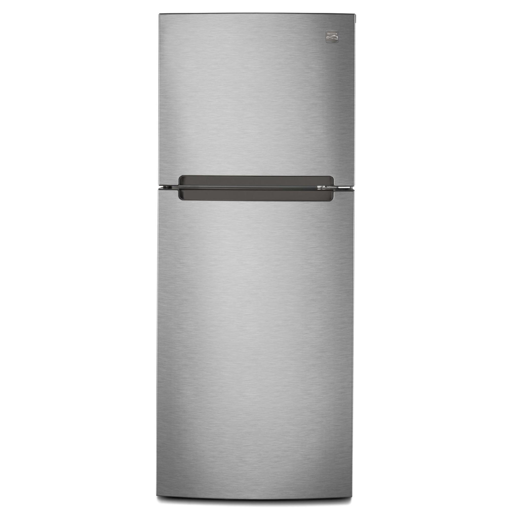 Kenmore 10 7 cu ft Refrigerator with Gallon Door Bins