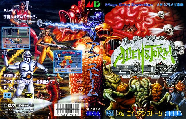 Sega Mega Drive -AlienStorm