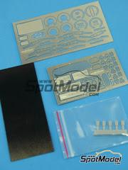 Fotograbados 1/24 Hobby Design - Toyota Celica GT-S   - fotograbados, resinas, partes de tela - para kit de Tamiya TAM24215