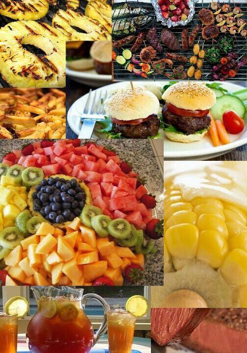 Backyard wedding reception food ideas