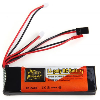 Gearbest ZOP Power 7.4V 2200mAh 8C Lipo Battery