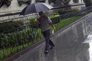 La lluvia podría ser protagonista este sábado y domingo.
