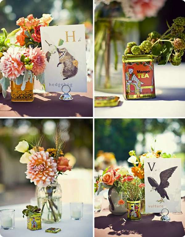 Budget wedding centerpieces can be unique too You can use your imagination