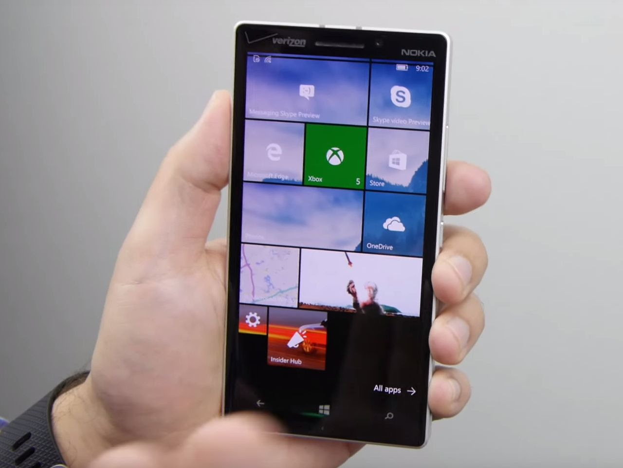 Windows 10 Mobile 10536