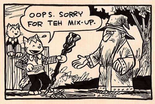 Laugh-Out-Loud Cats #612 by Ape Lad