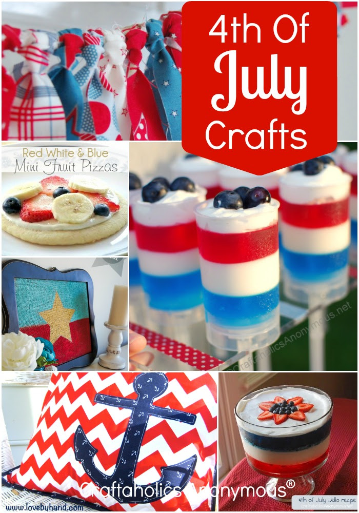 Craftaholics Anonymous 23 Creative 4th Of July Ideas