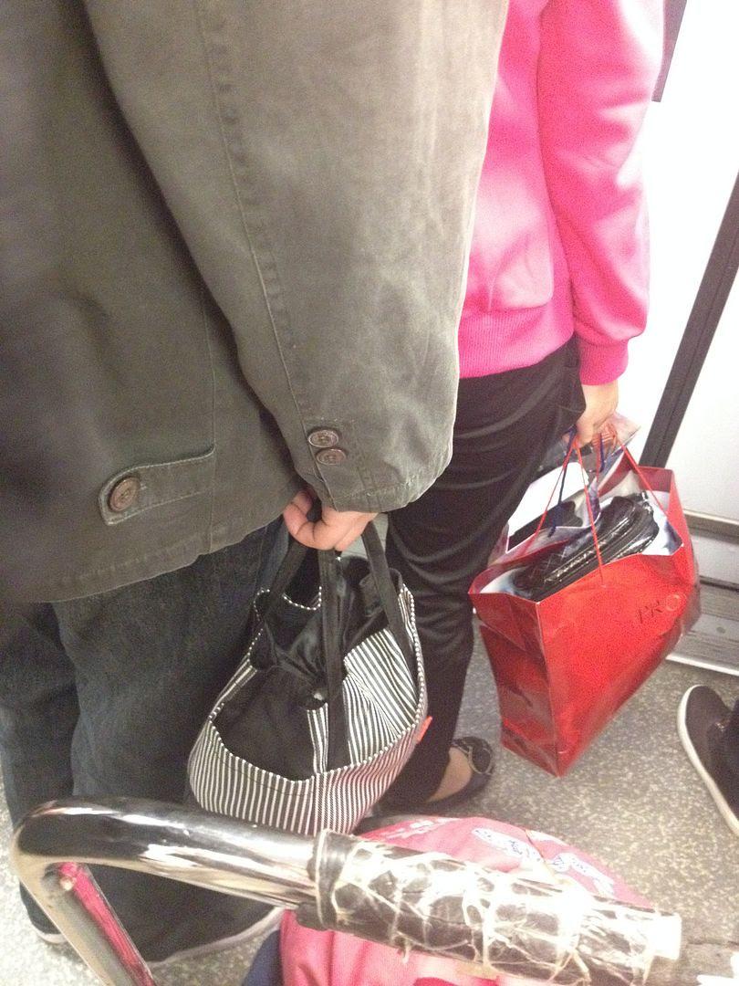 Man bag. Looks like one of those Purs'nal Pals http://pursnalpal.com/ photo 2013-10-20220426_zps4a92b600.jpg