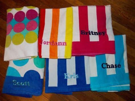 Personalized Beach Towel   Monogrammed Beach Towel, Pool