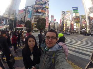In Shibuya!