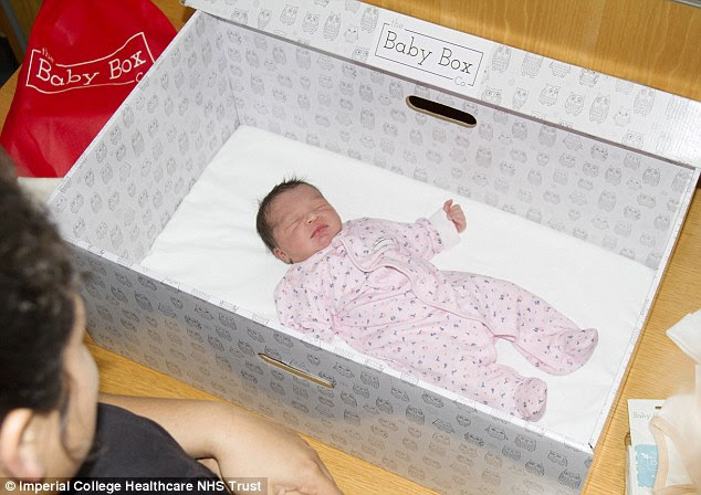 Finnish-style 'baby boxes' will be given to new mothers in England for the first time as part of a pilot aimed at reducing levels of cot deaths in the UK