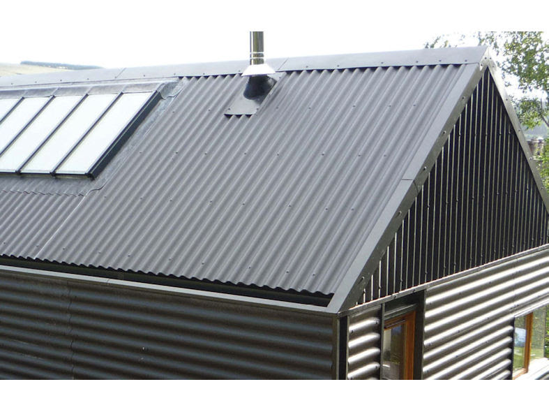 Cembrit B5 Corrugated sheet for single storey, sectional ...