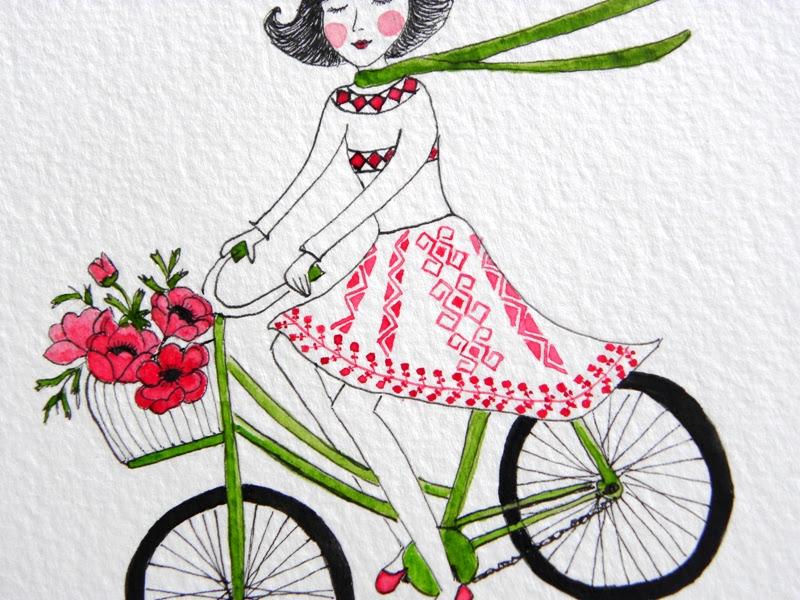 Rower - nagłówek - Francuski przy kawie
