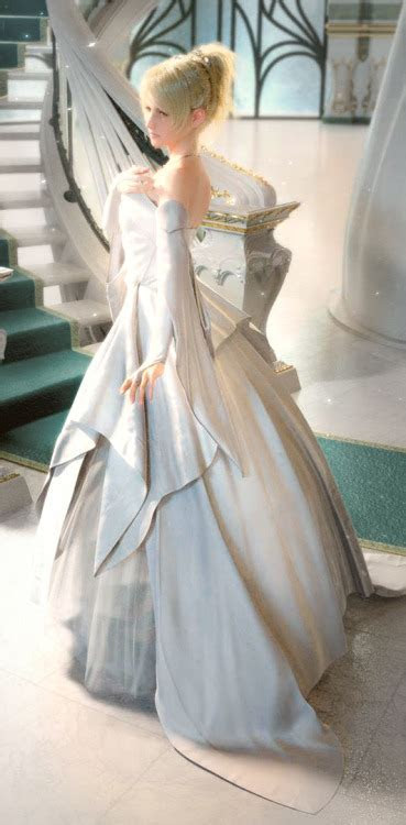 Image   Lunafreya Wedding Dress.jpeg   Final Fantasy Wiki