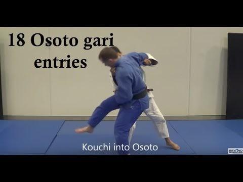 18 formas de aplicar o Osoto-gari