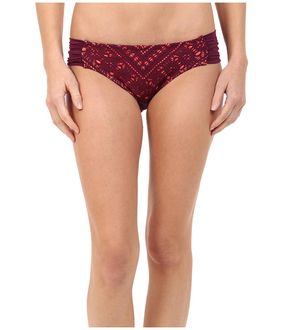BECCA by Rebecca Virtue - La Boheme American Bottom (Marsala) Women's Swimwear