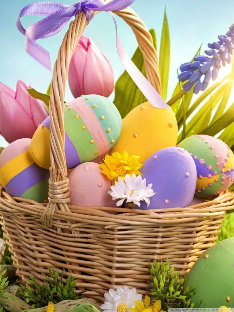 Easter Eggs Wallpaper Wallpapers Zones