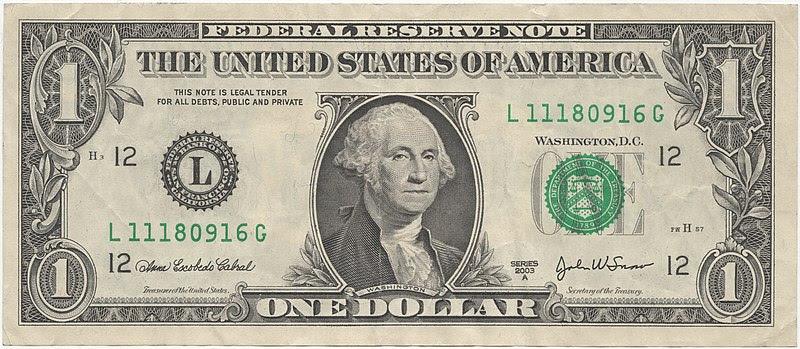 Image:United States one dollar bill, obverse.jpg