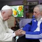 Bergoglio con Castro