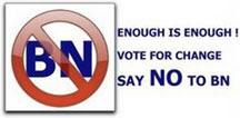 NO to Barang Naik party!