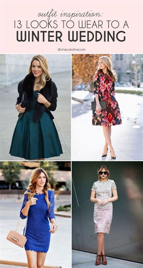 winter wedding outfits ideas  pinterest guest