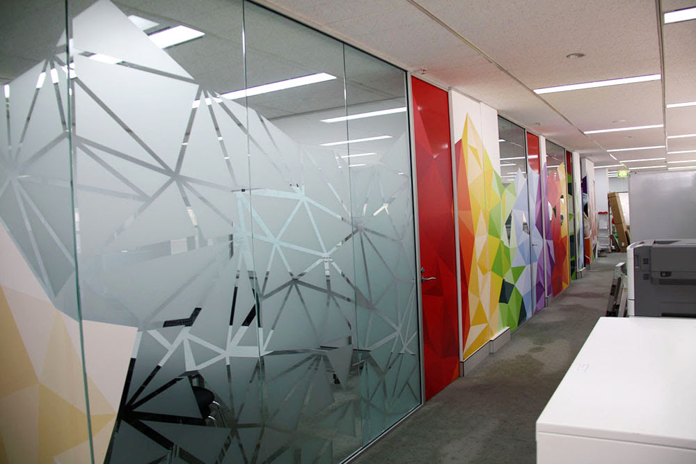100+ EPIC Best Frosted Glass Design Patterns For Office ...
