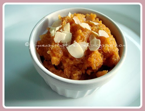 Carrot & Watermelon Halwa