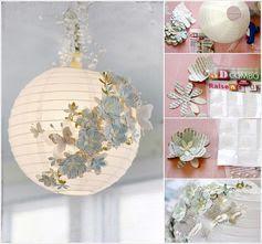 A Stunning Embellished Paper Lantern.