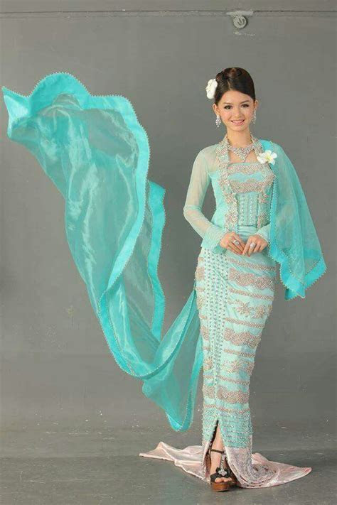 Myanmar Wedding Dress   Myanmar Wedding Dress   Thai
