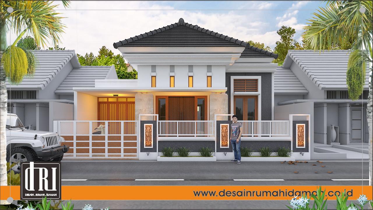 Rumah Mewah 1 Lantai Tarutung Desain Rumah Idaman