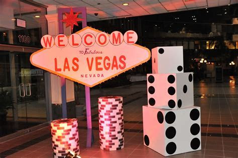 vegas themed party   Private Casino & Casino Parties in