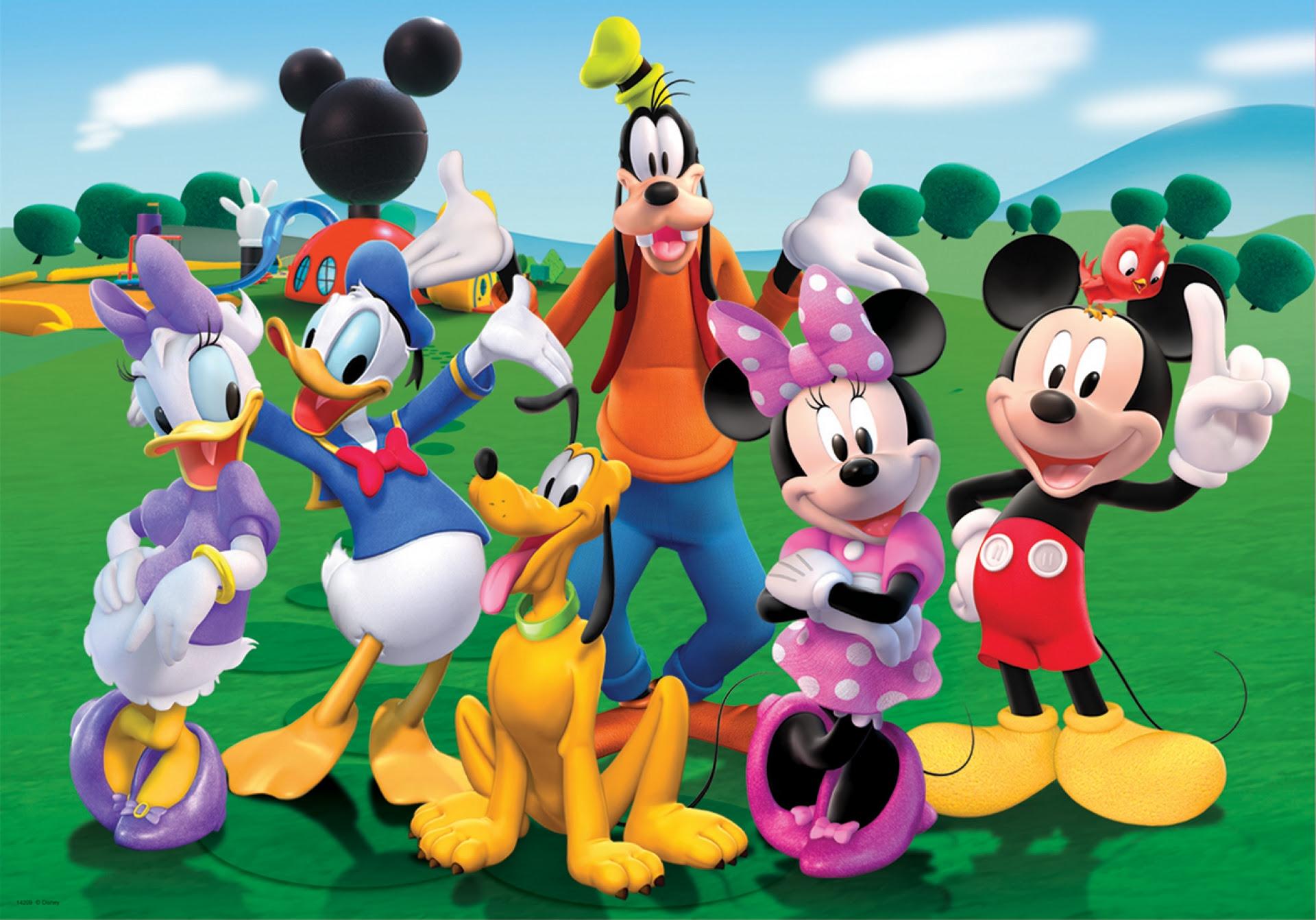 10 watak kartun popular di kalangan budak-budak.