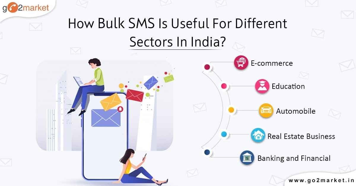 How Bulk SMS is useful for different sectors in India?