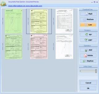 Numérisez gratuitement vos documents avec Documalis Free Scanner