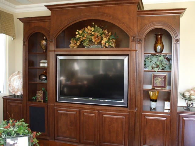 Woodworking Wooden showcase designs for hall in india ...