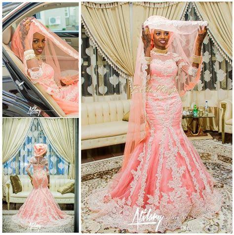 2016 Nigeria Mermaid Wedding Dresses African Traditional