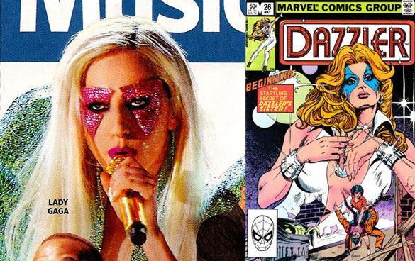 Lady Gaga and Dazzler