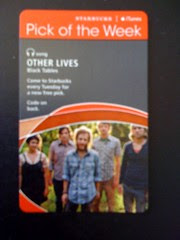 Starbucks iTunes Pick of the Week - Other Lives - Black Tables