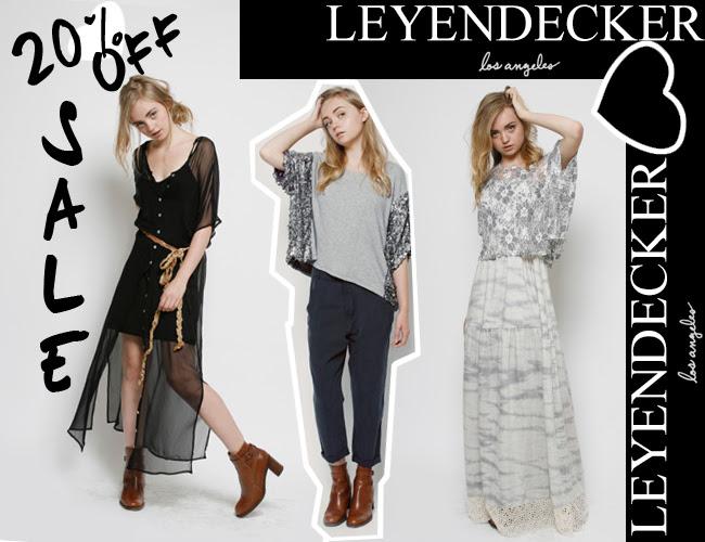 Leyendecker Sale, Fashion clothing
