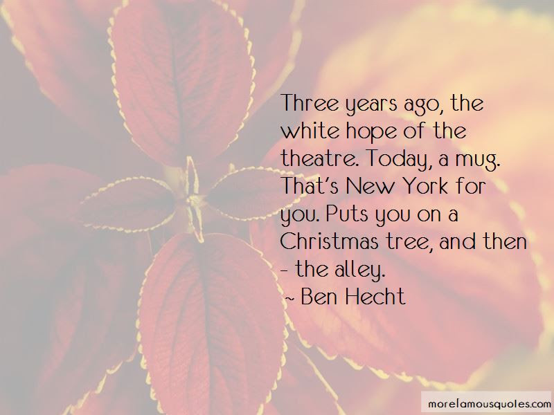 Quotes About New York Christmas Top 11 New York Christmas Quotes
