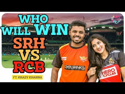 RCB Girlfriend Vs SRH Boyfriend
