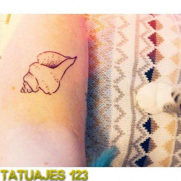 Caracola Del Mar Tatuajes 123