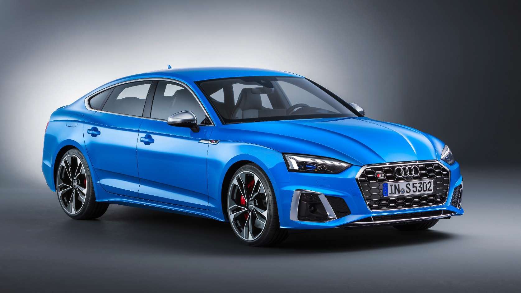 The 2021 Audi S5 Sportback has a claimed 0-100 kph time of 4.8 seconds. Image: Audi