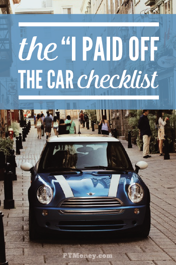 What to Do When You Pay Off the Car Loan